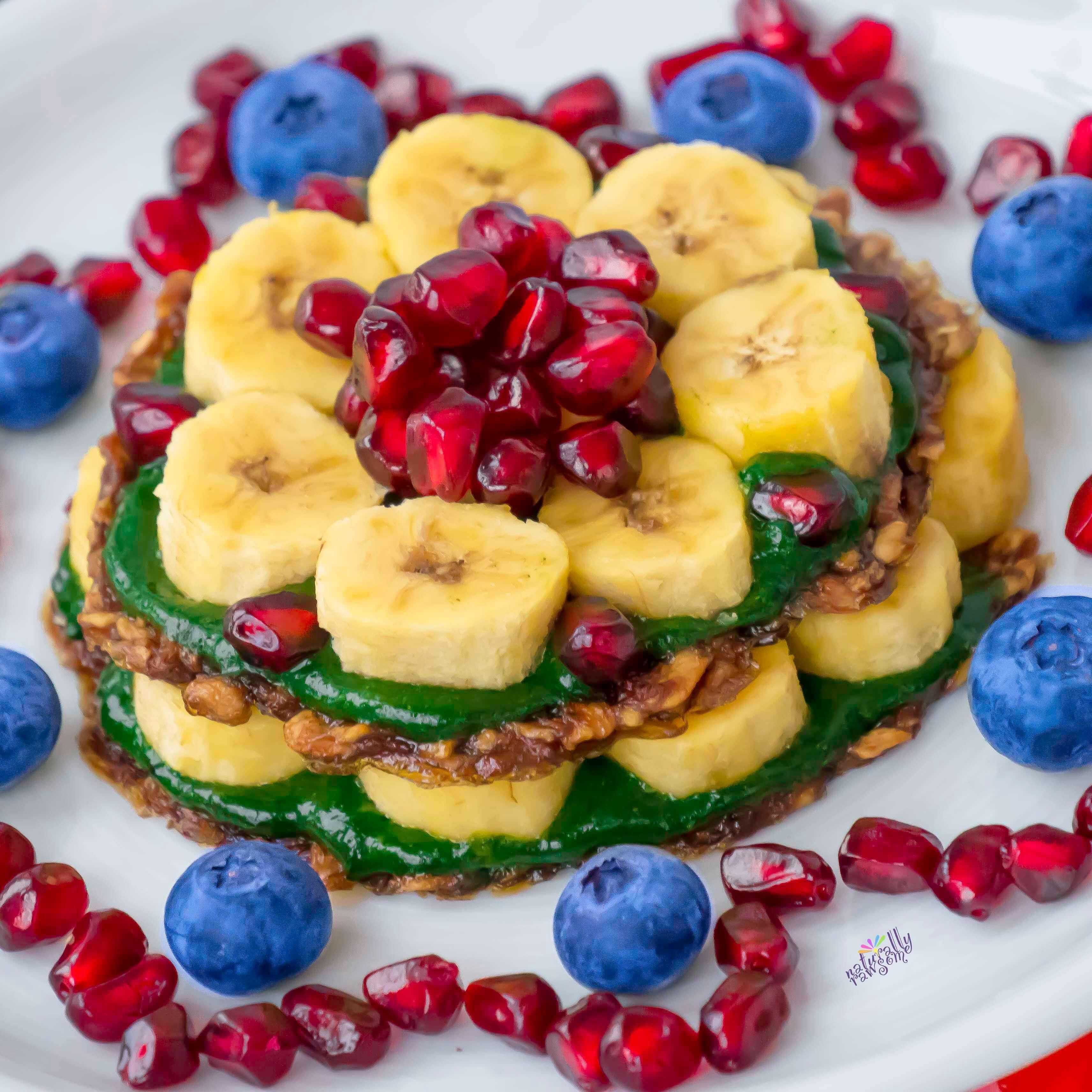 Banana-Protein Pancakes (raw)