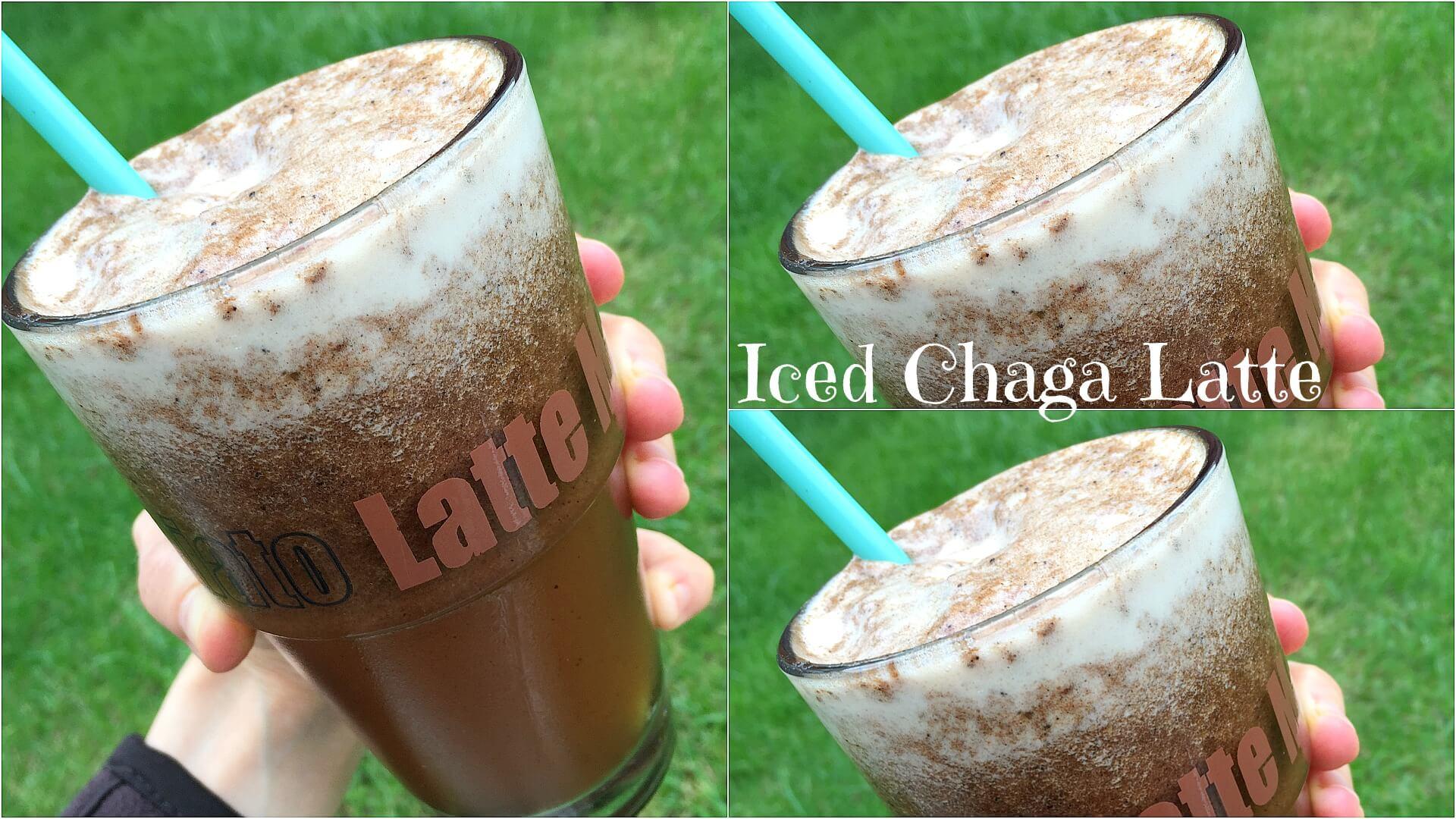 Iced Chaga Latte
