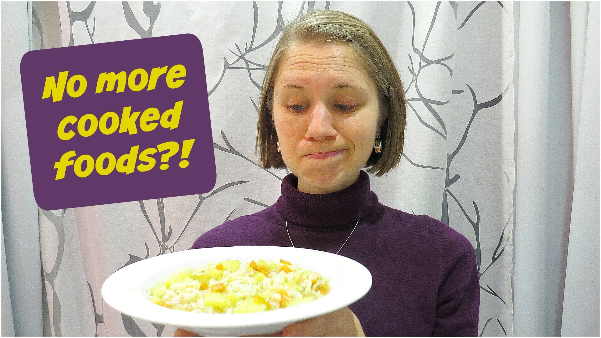 I can't eat cooked food anymore!