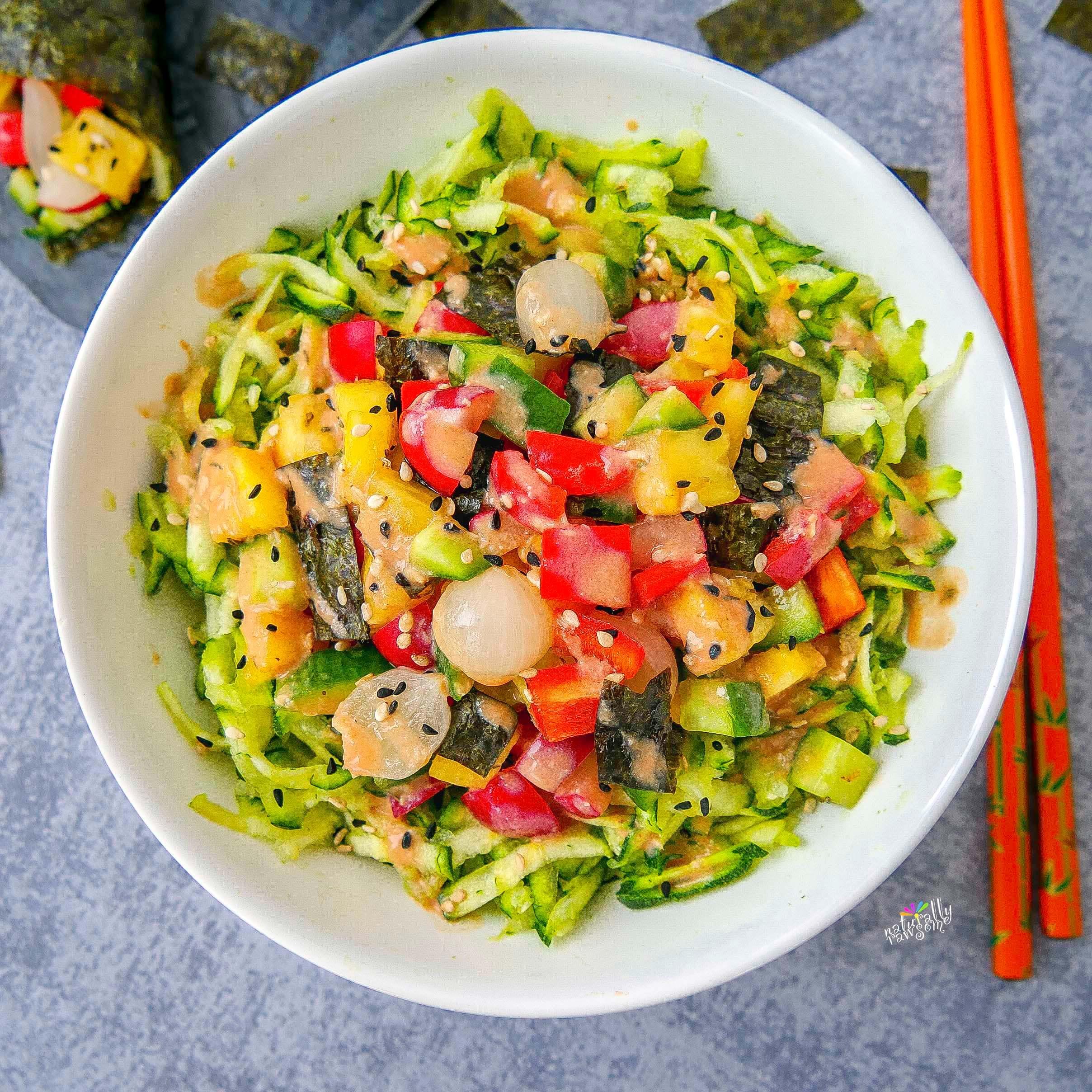 Sushi Noodle Bowl