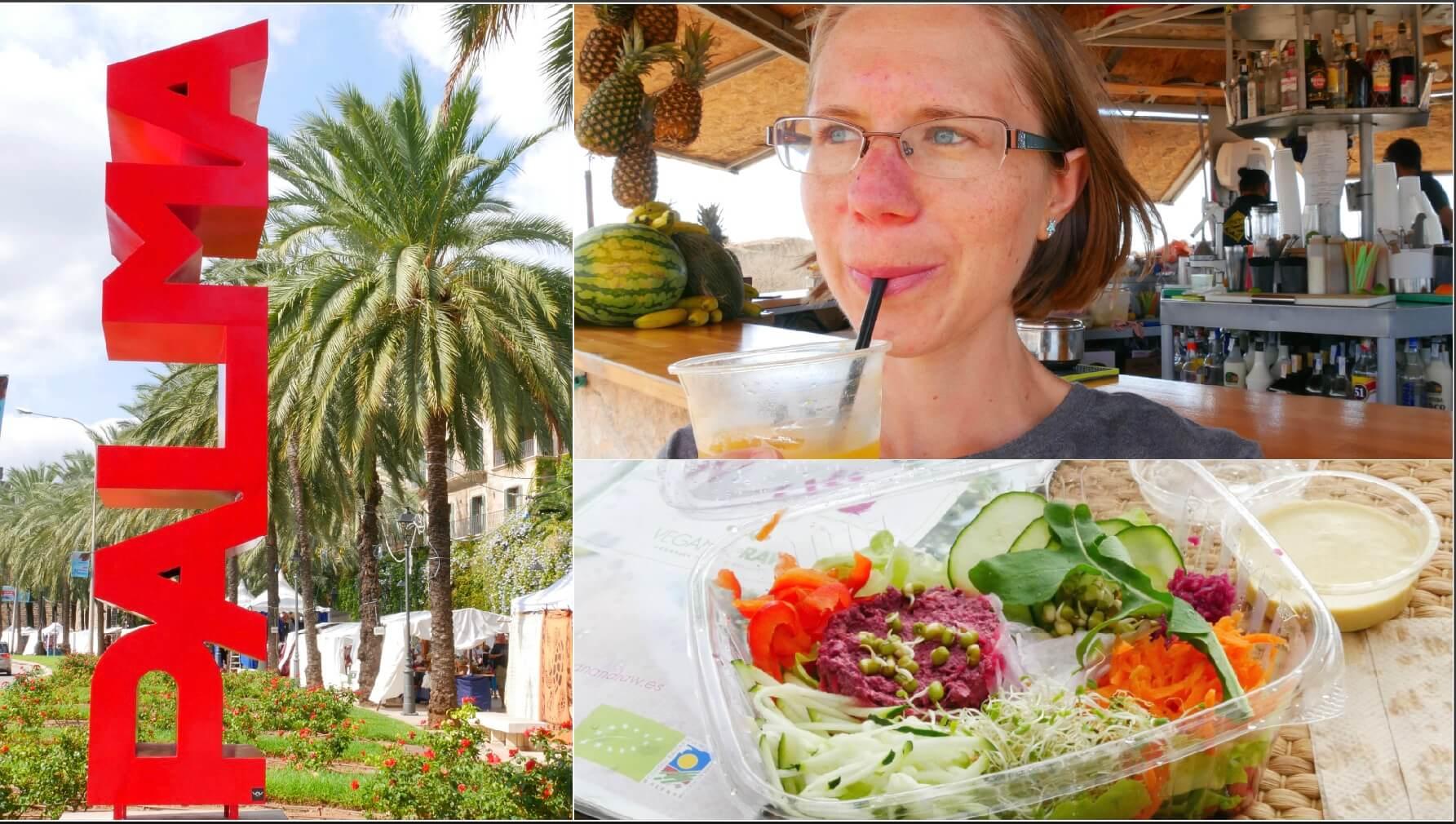 Vegan Food Shopping in Palma